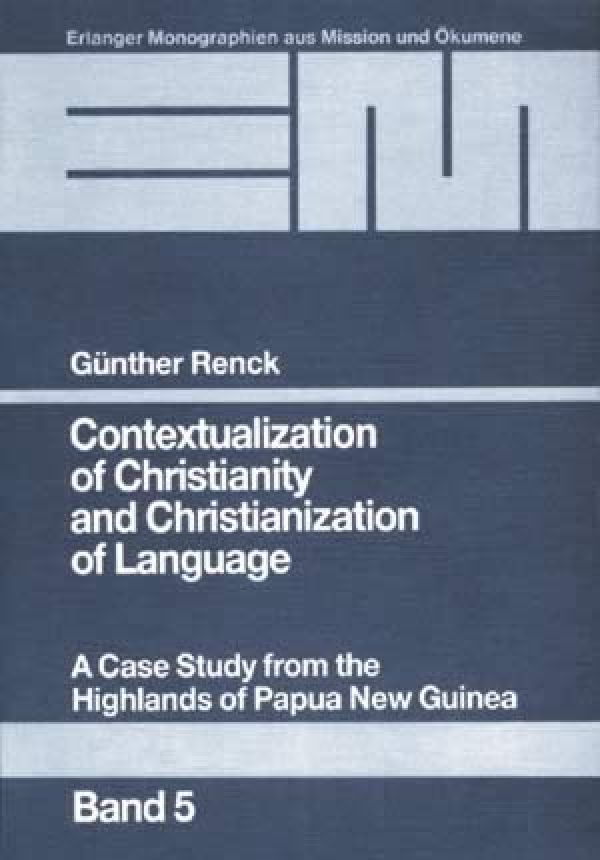 Contextualization of Christianity and Christianization of Language