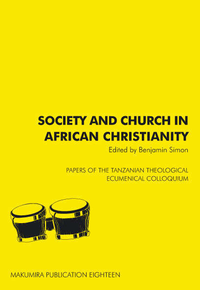 Society and Church in African Christianity
